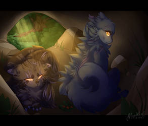 brokenstar's death by mapleIeaf
