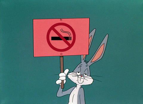 Bugs Bunny Says No Smoking
