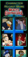 My Mickey's Christmas Carol Recast Meme