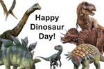 Happy Dinosaur Day