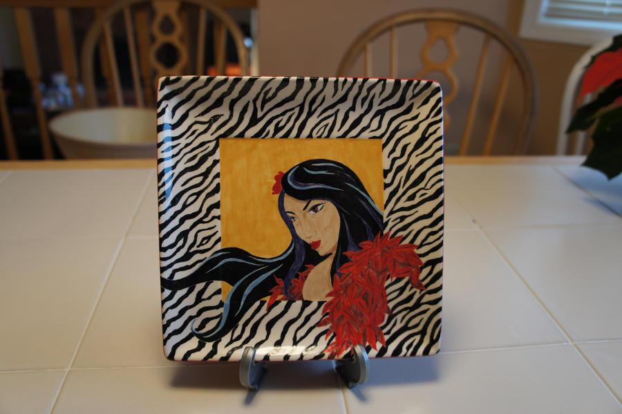 Zebra Flair by Eleihoma