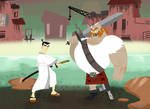 Samurai Jack Two Man Army