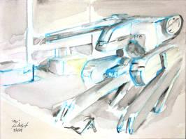 Behold REX_MGS fanart by JorgeSantiagoJr