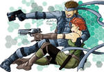Snake and Meryl Commission