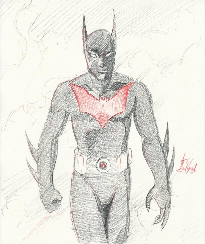 batman beyond by jorgesantiagojr on deviantart