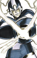 Megaman X 2012 by JorgeSantiagoJr