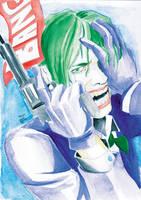 The Joker by JorgeSantiagoJr