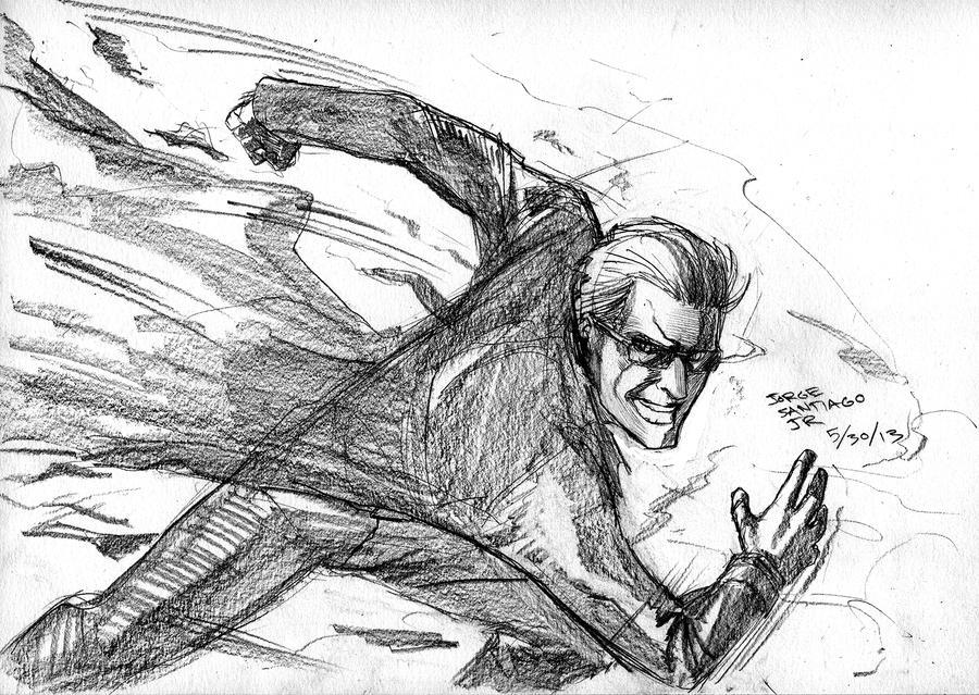 2013-05-30-Wesker by JorgeSantiagoJr