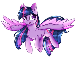 [FA] Twilight Sparkle by Cloud-Fly
