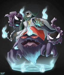 Channeler _ The Master of Ghosts by hftran