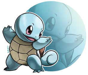 7. Squirtle by hftran
