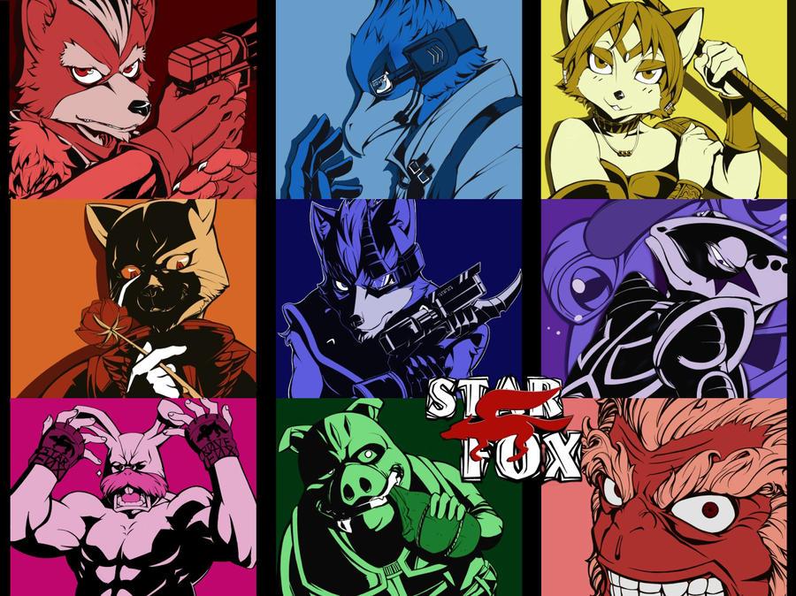 Starfox by inubiko
