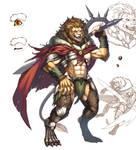 Lion soldier