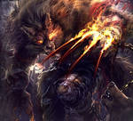 Wolf Man by inubiko