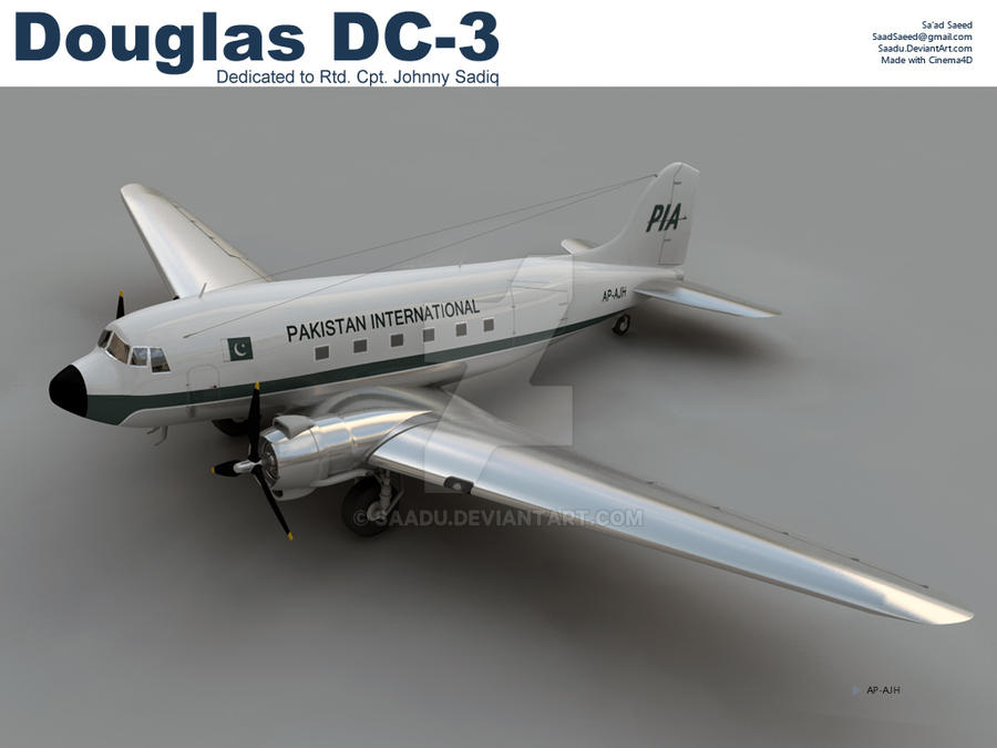 PIA DC3 from the 60s