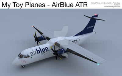 My Toy Planes - AirBlue ATR