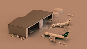 Toy Airport Set