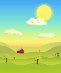 SunnyFarm - Paralax Background by criss125