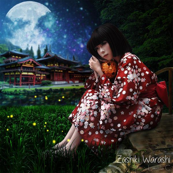 Zashiki Warashi by LaviniaChu