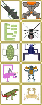 Invertebrates Collection 1