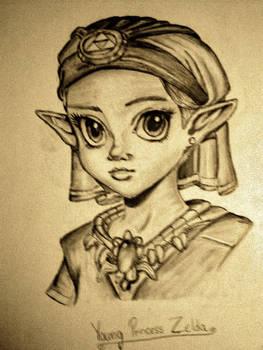 Young Princess Zelda- pat-mcmichael