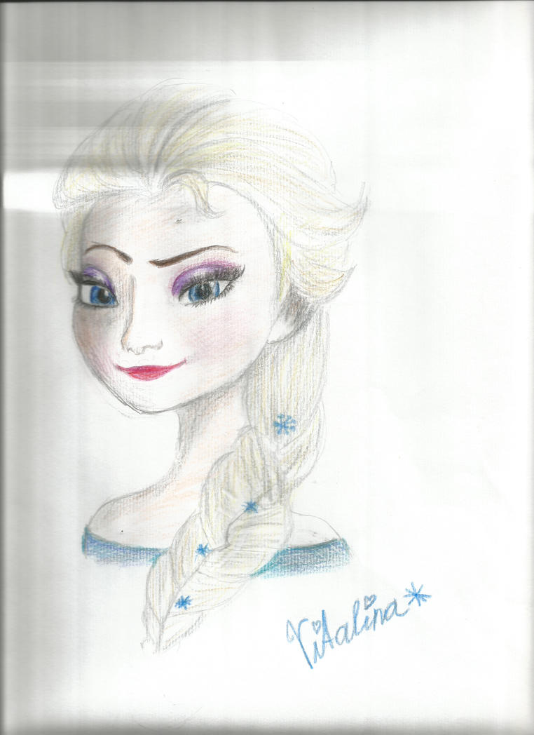 Elsa by Snowflakie123