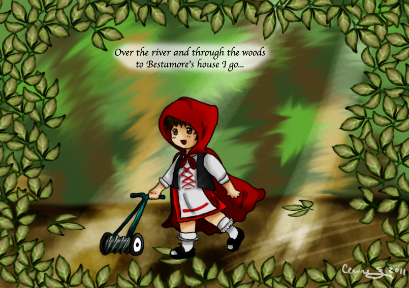 Little Red Riding Will by Enirre-Poketo