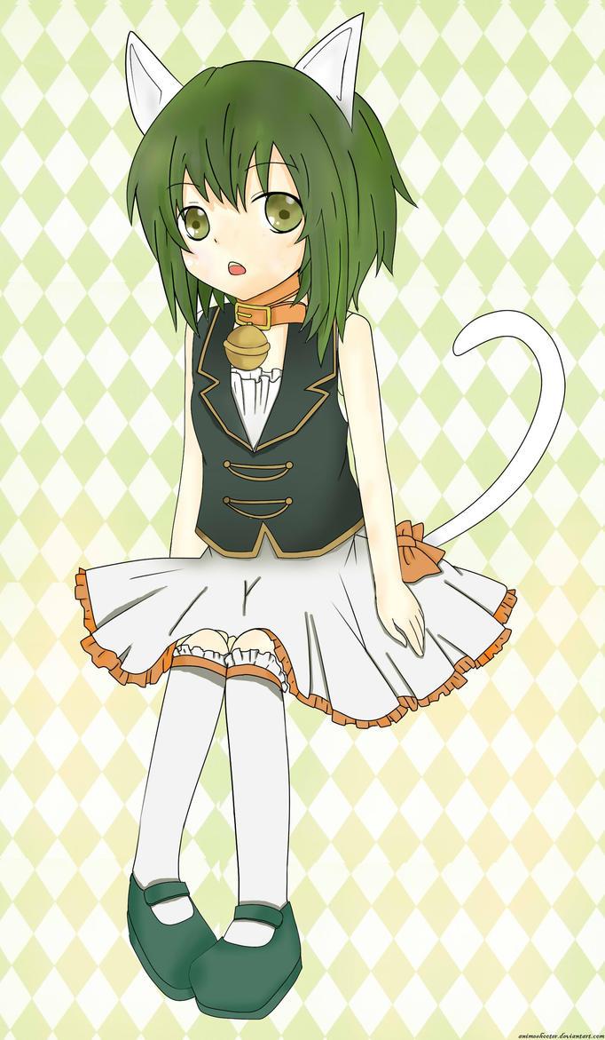 Gumi Chibi Cat Gumi ah Its a Wonderful Cat