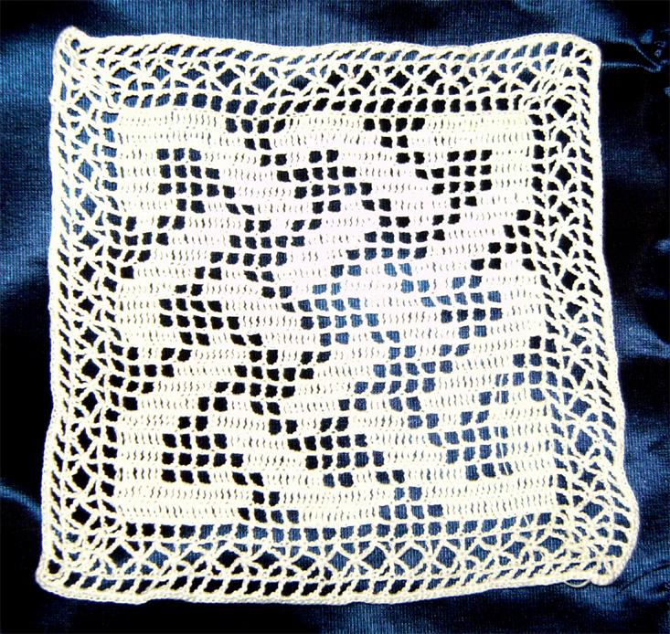 Free Crochet Pattern Filet Crochet Charts From The Filet Crochet ...