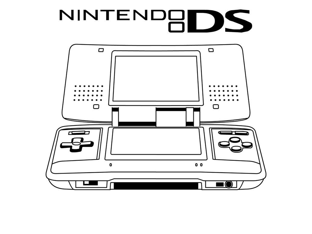 nintendo ds coloring pages - photo#12