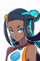 Nessa, Pokemon Sword  Shield. by Andr-3