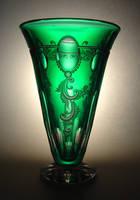 vase by Viczan