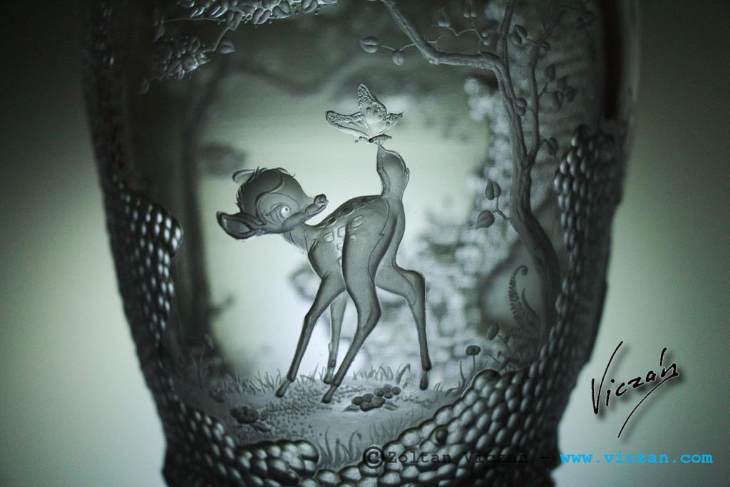 Bambi (close up) by Viczan