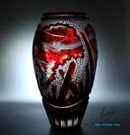 Crystal dragon by Viczan