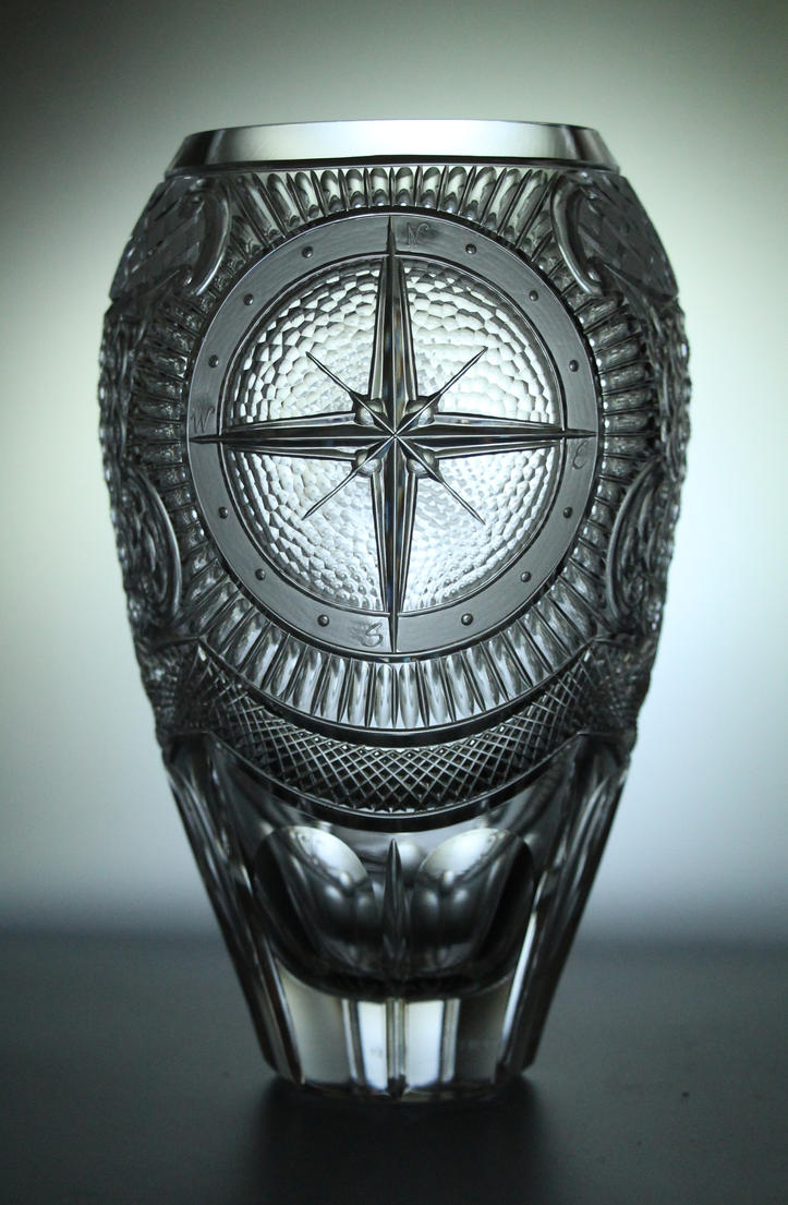 Crystal ship - Compass by Viczan