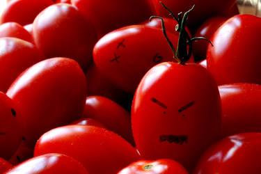 Evil Tomato by IllusionsGlade