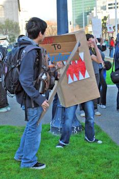 March 4 Protest - SF 4 - DOMO