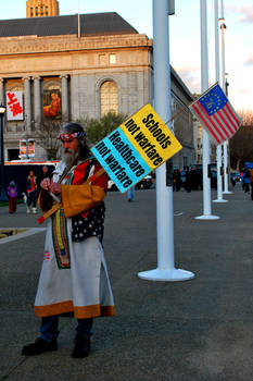 March 4 Protest - SF 5