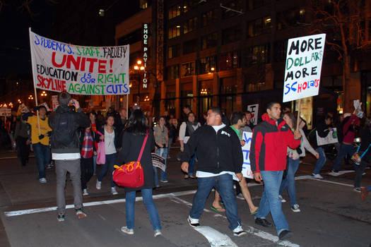 March 4 Protest - SF 9