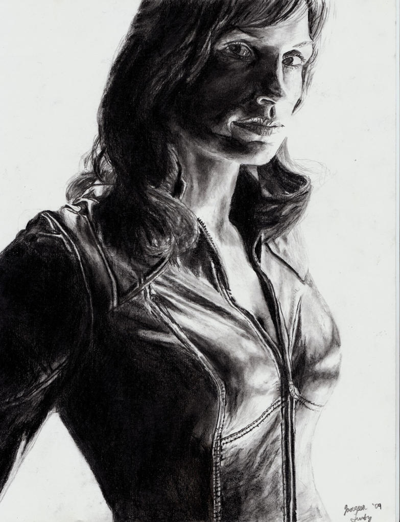 Famke Janssen Jean Grey by ScullyNess