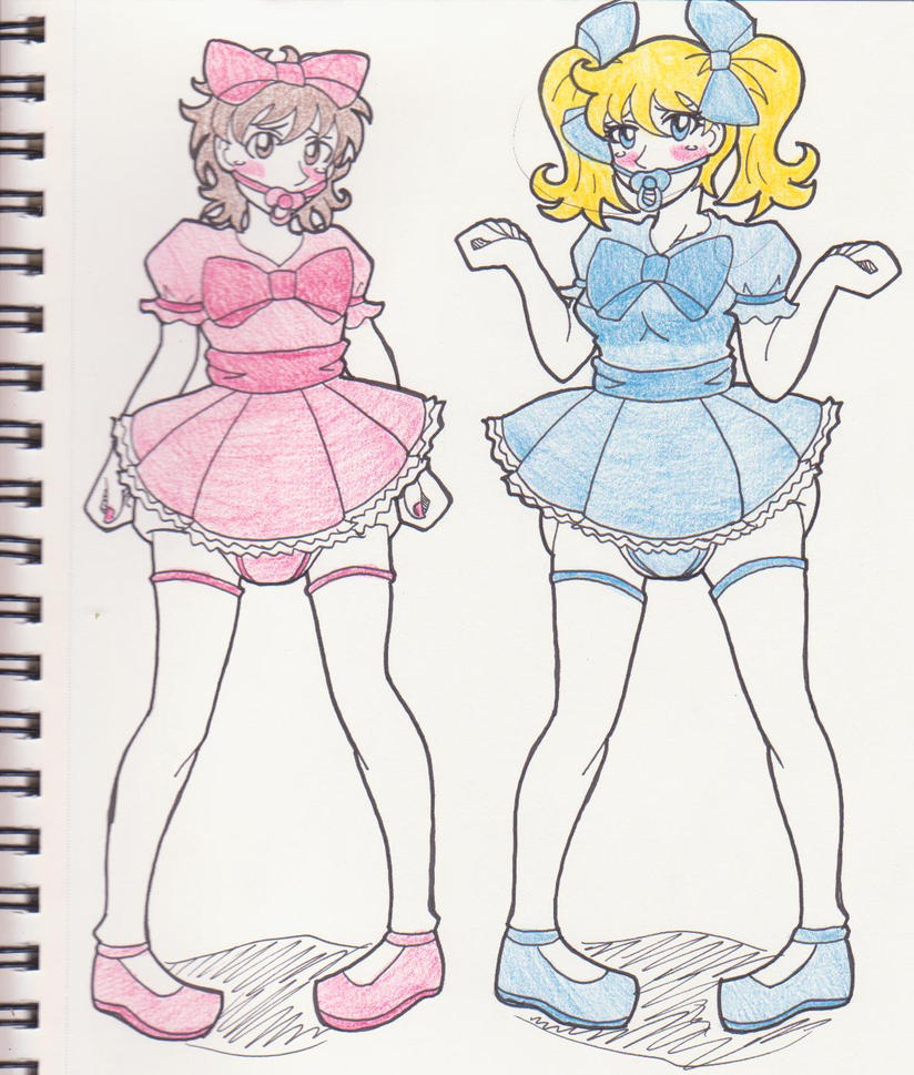 Dolly Wolly Mark and Amy by Kobi-Tfs