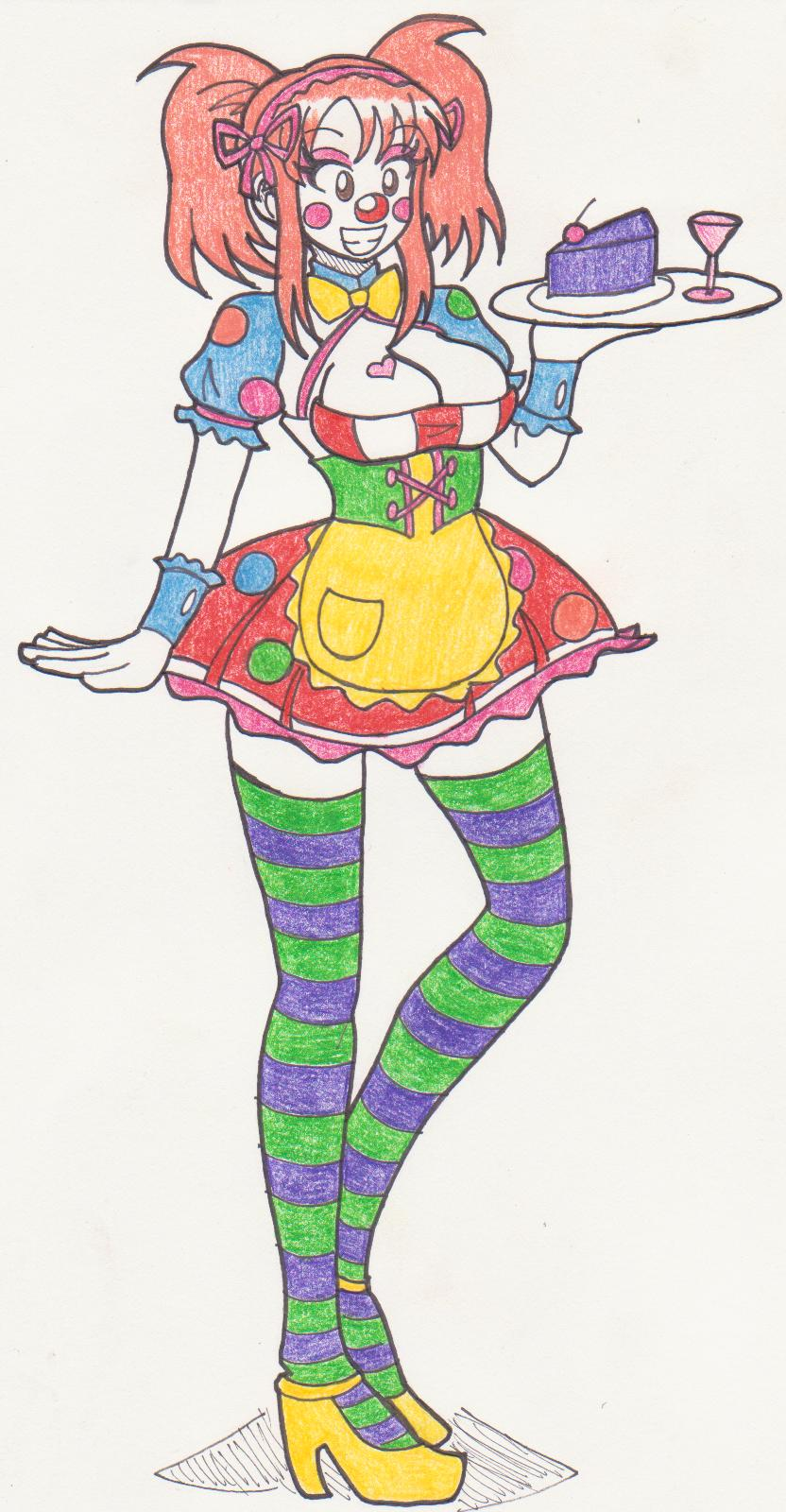 Clowning Around Mikuru Maid by Kobi-Tfs