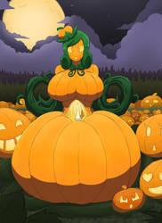 Elena Queen of the Pumpkin Patch