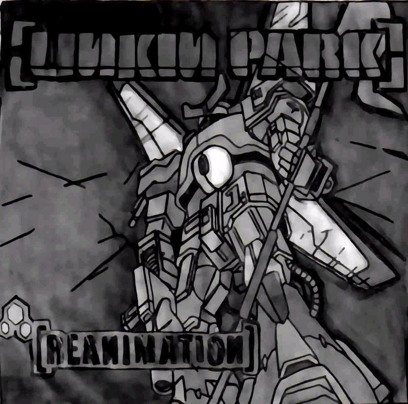Linkin park reanimation art