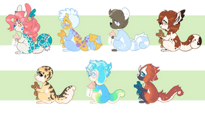 Baby chams YCH