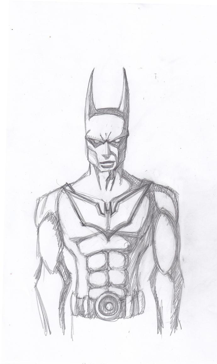 Batman Beyond Sketch By ConstantM0tion On DeviantArt