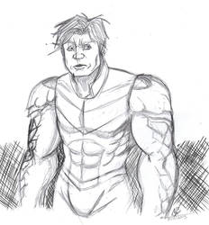 Picture a day 125: Hulkling by ConstantScribbles