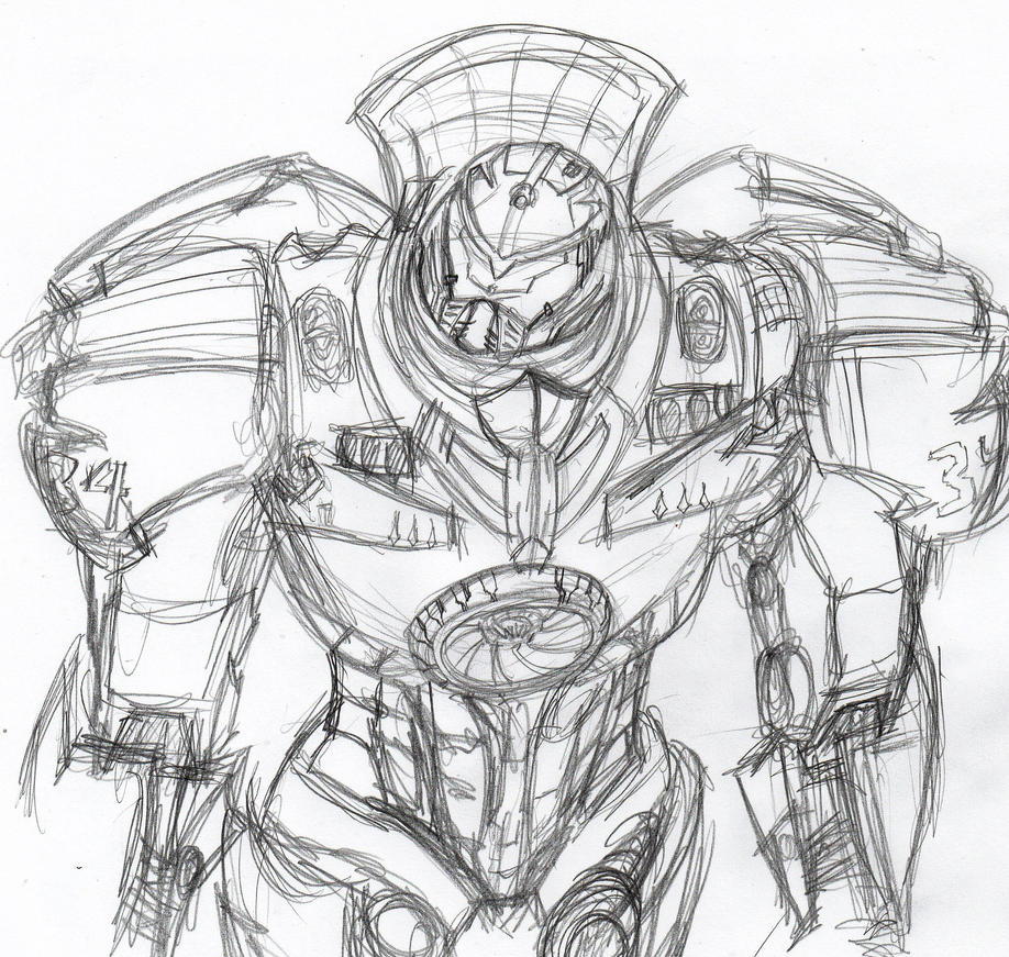 Jaeger 34: Gypsy Danger by ConstantScribbles on DeviantArt