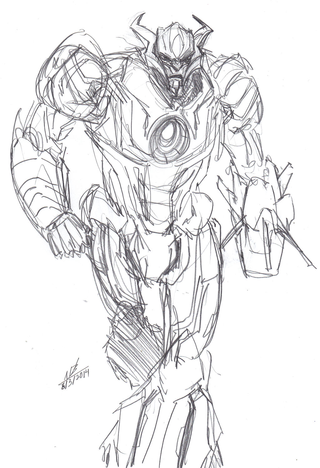 AoE Galvatron Warm-Up by ConstantM0tion