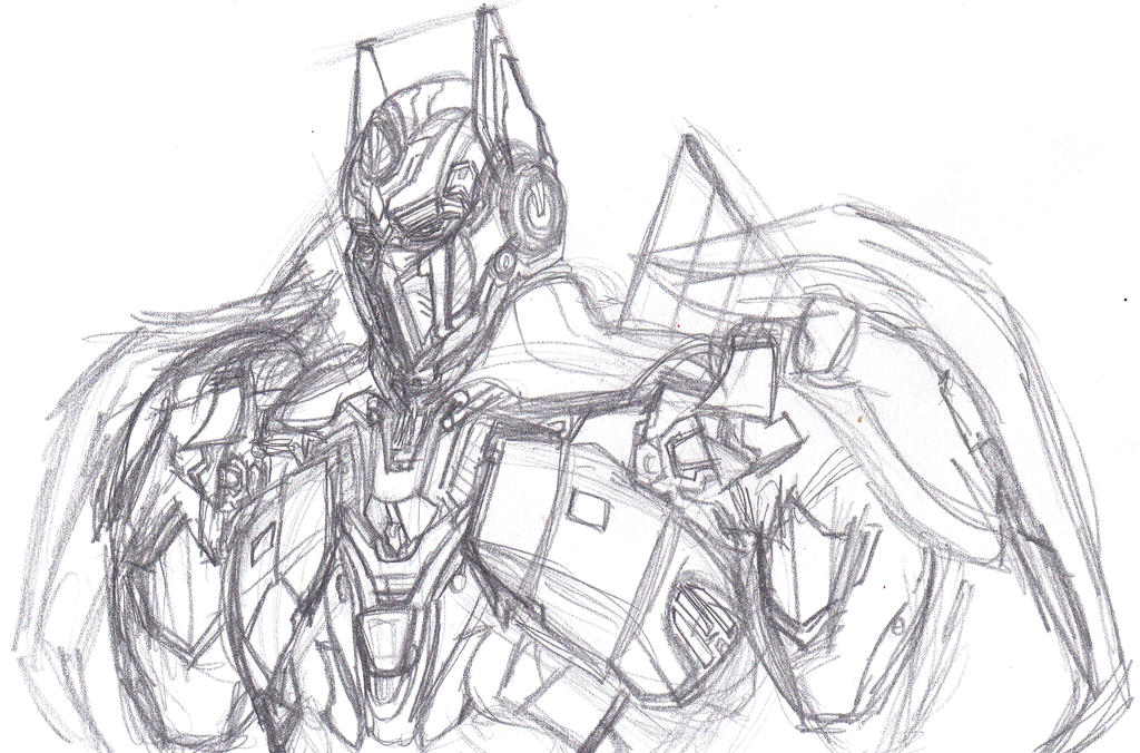 Picture a Week (2014) 25: Optimus Sketch Catch-Up by ConstantM0tion